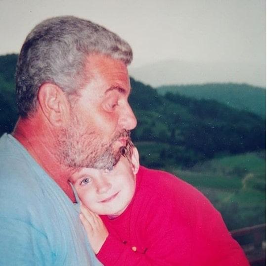 Grandpa and Miša